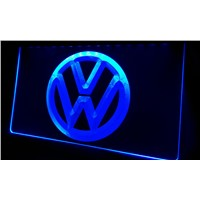 LS330-b Volkswagen-LED VW Car Logo Services Neon Light Sign