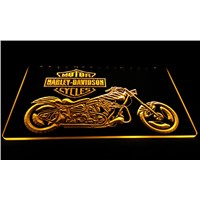 LS609-y Motor Cycles Neon Light Sign