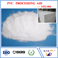 Acrylic Processing Aid YFG800 In PVC Board