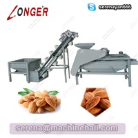 Almond Hulling Shelling Machine|Almond Processing Equipment|Almond Sheller Huller Machine