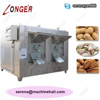 Large Capacity Drum Roasting Machine| Peanut Roaster Equipment