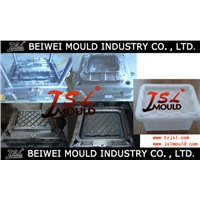 Injection Plastic Tote Box Mould