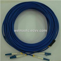 Armored Optical Fiber Patch Cord LC-LC Singlemode Duplex
