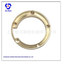 Automobile Exhaust Pipe Splash Proof Locating Brass Ring Fixture Part