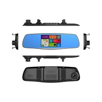 DUAL LENS FHD1080P/HD720P REARVIEW MIRROR CAR DVR