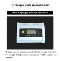 2016 New Product Hydrogen Water Spa Instrument