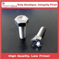 3/8 INCH UNF TITANIUM HEX HEAD BOLTS