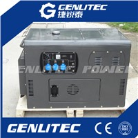 8kw/10kva Air Cooled 2 Cylinder Diesel Generator Portable