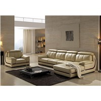 European Style Modern Design Sectional Genuine Leather Sofa Set