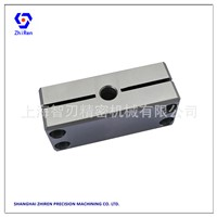 Customized Locking Block Hard Oxidation Aluminum Alloy 6061 Packaging Machinery Precision Parts