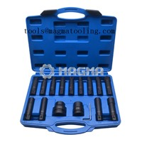 "16PCS Impact Insert Bit Socket Set-3/4"" & 1""-Garage Tools (MG50472)"