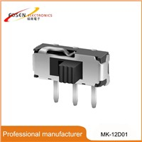 Mini Slide Switch MK-12D01 Made In China