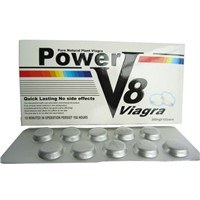 Power V8 Erection Pill Natural Herbal Medicine for Man