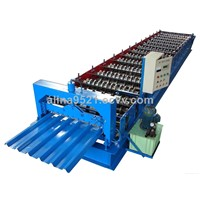 Colored Steel Roof Panel Roll Forming Machine