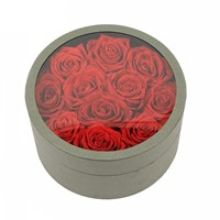 Custom Printed Round Gift Boxes Cylinder Box Small Round Cardboard Boxes with Lids Wholesale