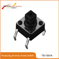 4 Pin Push Tact Switch 6x6 TS-1301A