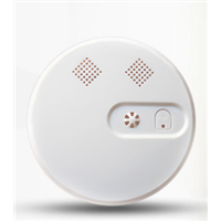 Wireless Smoke Detector for GSM Fire Alarm System