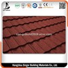 Heat & Noise Resistant Building Material Color Stone Coated Metal Roof Tile