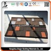 Environment Friendly Modern Solar Roofing Tile, Stone Coated Steel Roof Tile for Houses