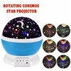 Star Moon Sky Rotation Night Light Romantic Projector Light Projection with High Quality Kids Bedsides LED Star