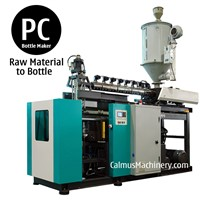 5 Gallon Polycarbonate Bottle Blow Molding 20 Liter PC Bottle Making Machine