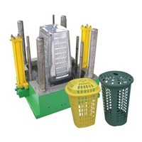 Household Mould Plastic Rectangle Laundry Basket Mould
