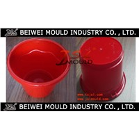Injection Plastic Water Bucket Mould