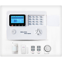 GSM+PSTN Dual Network Intelligent Home Alarm Panel System