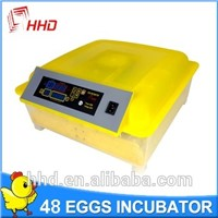 Favofable Price Automatic Egg Incubator 48 In China HHD YZ8-48 Saving Energy with Auto Egg Turning