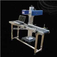 Fiber Laser Marking Machine with Conveyor