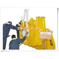 River Mud Suction Gravel Pump for Dredging