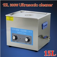 15L 300W 40KHz Desktop Ultrasonic Cleaning Machine for Factory