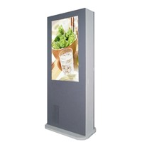 LCD Screens Outdoor Digital Touch Kiosk, Commercial Advertising Outdoor LCD Display
