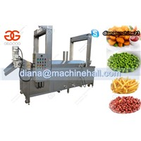 Continuous Peanut Fryer Machine|Pork Rinds Frying Machine for Sale
