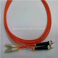 Fiber Optic Patch Cord LC-ST Multimode Duplex