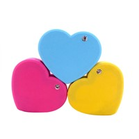 Wholesale Newest Heart-Shape Design Hot Sale 5200mah Mobile Charger