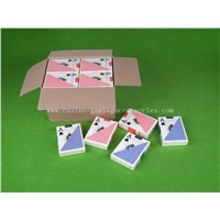 100% PVC Plastic Texas Playing Card, Professional Hold Em Poker Cards