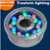 RGB Green Blue Yellow 6W 9W 12W 18W Fountain Light LED 24V 12V Waterproof Underwater Light LED Fountain Light