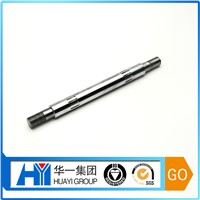 Custom High Quality Stainless Steel Spindle Bearing Aluminum Shaft