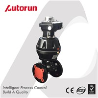 FLUORINE LINED PNEUMATIC ACTUATED DIAPHRAGM VALVE