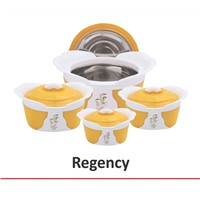 PLASTIC INSULATED WARE HOT POT with STAINLESS STEEL LINER