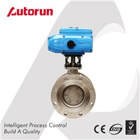 TRIPLE OFFSET ELECTRIC FLANGED BUTTERFLY VALVE