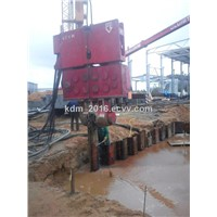 Used Vibro Hammer to Work on a Crane Or Piling Rig PVE 40 VM