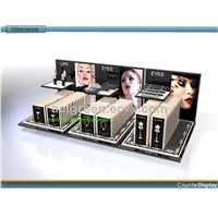 Acrylic Cosmetic Displays, Customized Design Countertop Display