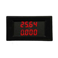 Dual LED AC Digital Multiple Power Meter Panel Watt KWh Power Factor