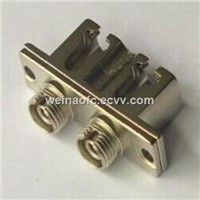 Fiber Optic Hybrid Adapter LC-FC Duplex Metal Housing Ceramic