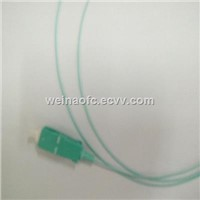 Fiber Optic OM3 OM4 Pigtail Aqua Multimode OM3 Tight Buffered Fiber