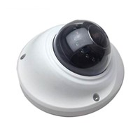 Mini Indoor HD CCTV IP Camera IR Vandalproof Dome H. 264 Encoder Wireless Hidden Camera
