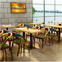 Solid Wood Combinate Dining Chairs