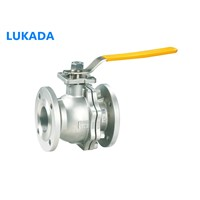 Steel Ball Valve, Flanged End Ball Valve